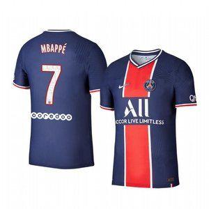 Paris Saint-Germain Kylian Mbappe Blue Jersey